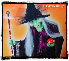 5 u2032 life size rare discontinued willow witch halloween prop