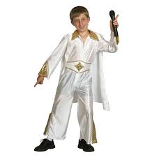 kids elvis rock star fancy dress 1950s costume