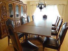 antique dining room sets antique dining set ebay