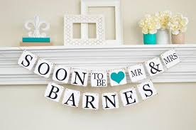 couples shower ideas engagement party decor bridal shower soon to be banner