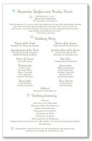 wedding bulletins exles collection wedding program wording exles pictures wedding ideas