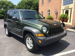 2006 green jeep liberty sell used 2006 jeep liberty crd turbo diesel sport 1 owner olive