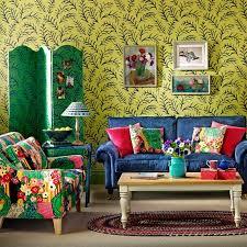 simple bohemian living room style decor image 06 howiezine