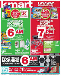 kmart black friday 2014 ads and sales morning doorbusters