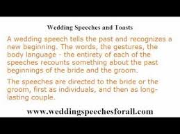 wedding speeches wedding speeches 4 guidelines in writing a memorable wedding