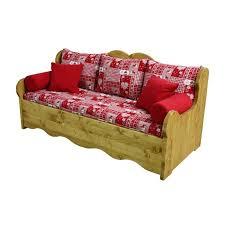canapé en pin 3 places pin massif