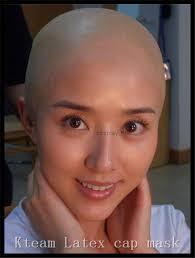 professional bald cap hot 1 pcs skin monk bald cap wig