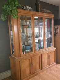 Kitchen Cabinet Edmonton Beautiful Wood China Cabinet And Hutch Edmonton Edmonton Area