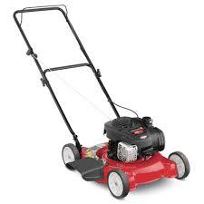 Home Depot Price Adjustment by Yard Machines 20 In 125cc Ohv Briggs U0026 Stratton Gas Push Mower