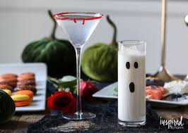 halloween cocktails two ways inspired by charm