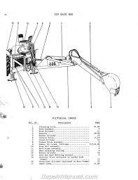 massey ferguson mf 220 industrial backhoe parts manual ebay