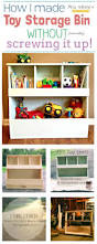 Kids Storage Shelves With Bins by Best 25 Toy Storage Bins Ideas On Pinterest Kids Storage