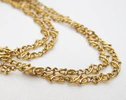 antique necklace chain images Antique french 18kt chain edwardian long gold necklace jpg