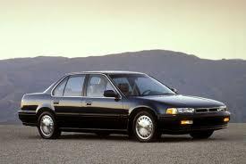 1991 honda accord looking back at honda s mid size gem on its ruby anniversary
