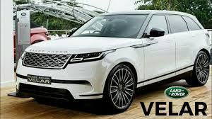 white land rover interior range rover velar white color beautiful suv youtube