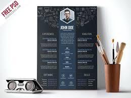 template curriculum vitae creative resume graphic designer