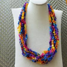 trellis ladder yarn necklace instructions best trellis yarn products on wanelo