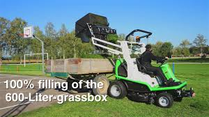 etesia profesional ride on mower hydro 124 d youtube