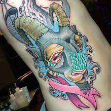 55 best capricorn tattoo designs main meaning is 2018