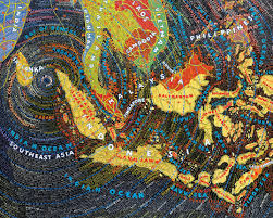 Where Is China On The Map by Ross O U0027neill Contextual Mapping In Context Paula Scher