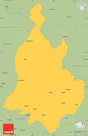 Gujarat India Map by Savanna Style Simple Map Of Sabarkantha Himatnagar