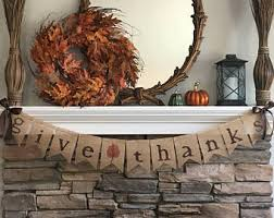 burlap thanksgiving banner give thanks fall burlap banner fall banner fall decor fall
