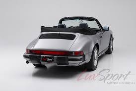 porsche 911 model cars 1988 porsche 911 anniversary edition stock 1988103 for