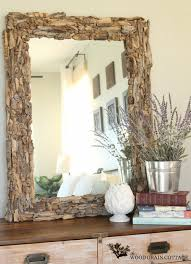 easy driftwood mirror the wood grain cottage