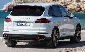 cayenne porsche turbo 2015 porsche cayenne turbo first drive review car and driver