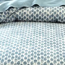 Queen Duvet Cover Pattern Organic Stamped Dots Duvet Cover Shams West Elm