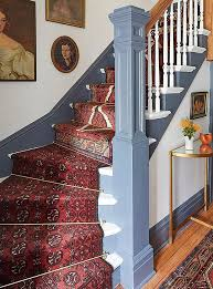 Staircase Ideas For Homes A Gorgeous Vintage Runners Diy Idea For Your Stairs