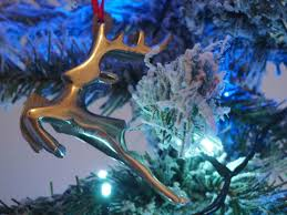 Silver Reindeer Christmas Tree Decorations by Decorating The Christmas Tree With Tk Maxx Pushing The Moon