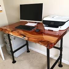 Computer Desk Oak Furniture L Shaped Corner Computer Desk Diy Long Desk Big