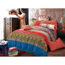 Moroccan Bed Linen - sherry kline moroccan 3 piece reversible print cotton duvet set