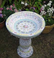 Flower Pot Bird Bath - top 25 best mosaic birdbath ideas on pinterest mosaic ideas