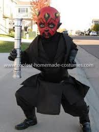 5 Costumes Halloween Coolest Darth Maul Homemade Costume Darth Maul Costume Costumes