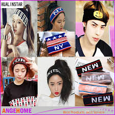 korean headband 2016 korean headbands big girl letter knitted hair bands girl