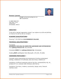 simple curriculum vitae for student simple resume format in word file throughout breathtaking basic