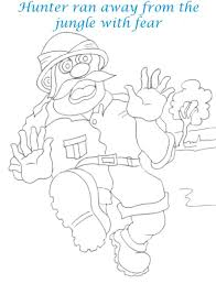 bee and dove story coloring page for kids 22