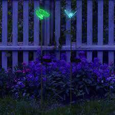 butterfly u0026 bumble bee solar garden decoration lights my dream