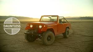 willys jeepster commando this jeepster commando is dauntless youtube