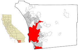 San Diego City Map by File San Diego County California Incorporated And Unincorporated