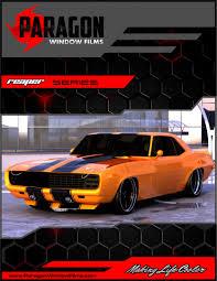 Custom Window Tint Designs Paragon Window Films Premium Quality Tint Car Window Tinting