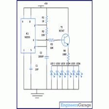 parked vehicle flashing indicator circuit diagram