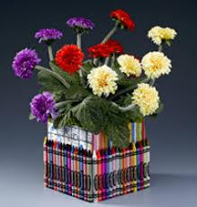 authentic parenting diy floral arrangements for
