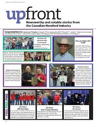 bruce butler the canadian hereford digest january 2017 by canadian hereford