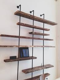 Reclaimed Wood Shelf Diy by 25 Best Wood Shelving Units Ideas On Pinterest Shelving Units