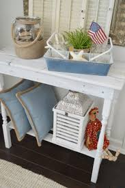 Cottage Home Decorating by Patriotic Summer Cottage Living Room