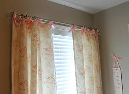 shabby chic curtain ideas u2013 white painted wall brown painted wall