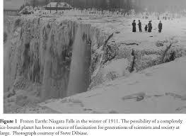niagara falls completely frozen 1911